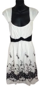 Max Studio short dress White and black on Tradesy