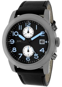 Marc by Marc Jacobs NEW Marc Jacobs Men's Stainless steel Larry Chronograph Leather Watch
