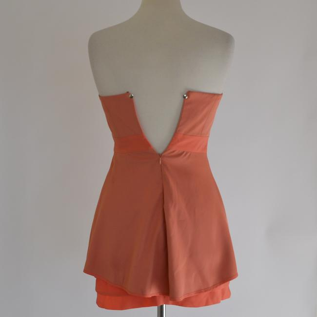 BCBGeneration short dress Persimmon on Tradesy