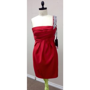 Pronovias Passion Red Dress