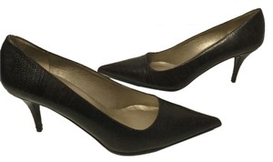 Claudia Ciuti Lining Soles $15 OFF Brown embossed all leather padded insoles Italian Pumps