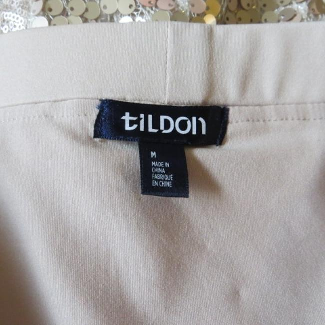Tildon Sequin Formal Skirt Beige