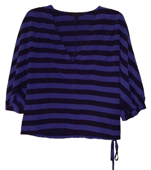 BCBGMAXAZRIA Top Blue/navy