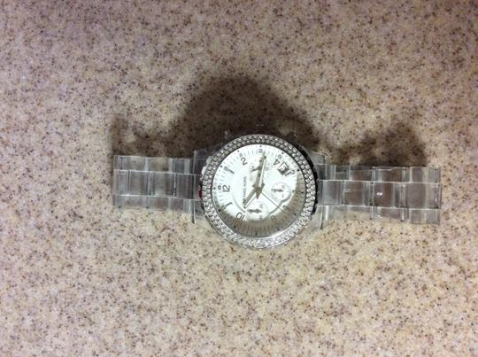 Michael Kors Michael Kors lucite stainless steel watch