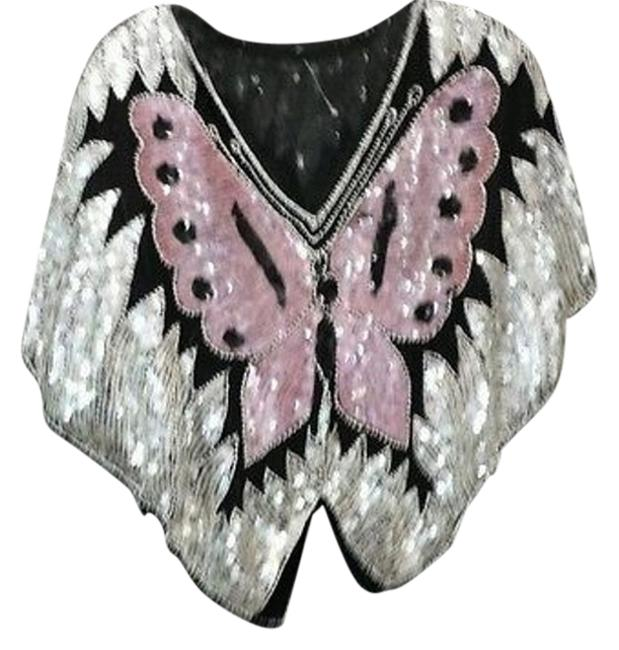 Preload https://item5.tradesy.com/images/embellished-butterfly-evening-party-formal-cocktail-m-blouse-size-8-m-10511134-0-1.jpg?width=400&height=650