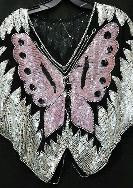 Other Embellished Cocktail Butterfly Top