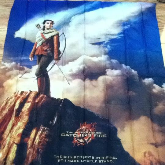 Lionsgate Hunger Games Fabric Poster Image 1