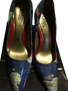 Carlos by Carlos Santana Multi color Pumps