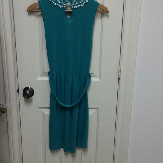 Nanette Lepore short dress Turquoise on Tradesy