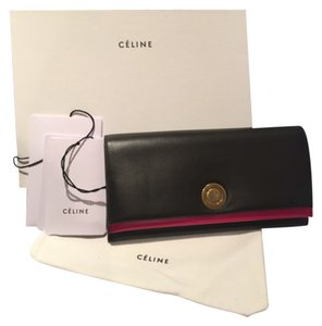 Céline Large Flap Multifunction Wallet