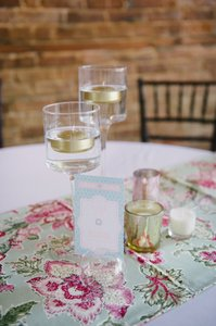 Mint Table Runners Tablecloth