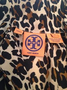 Tory Burch Top Leopard