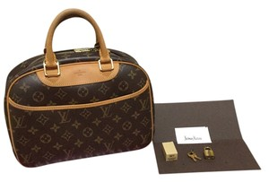 Louis Vuitton Made In France Satchel in Monogram Canvas