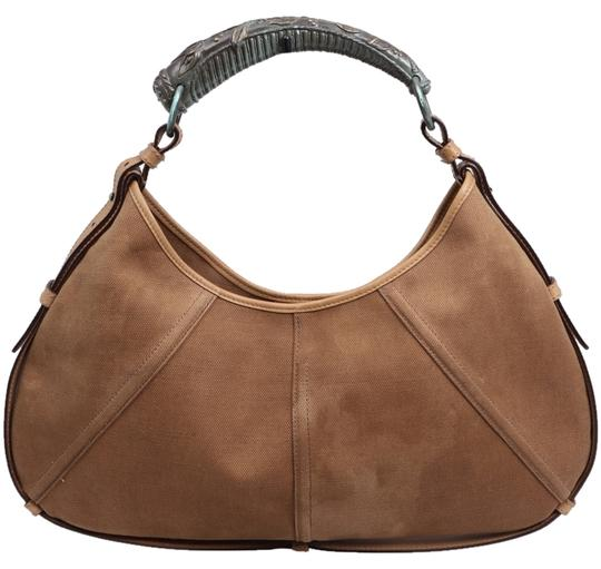 Preload https://item2.tradesy.com/images/saint-laurent-yves-mombasa-with-bronze-metal-horn-handle-cognacbrown-leather-and-suede-shoulder-bag-10513141-0-1.jpg?width=440&height=440