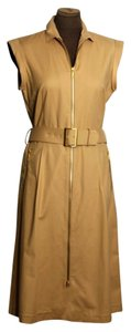 Lafayette 148 New York Belt Office Casual Dress