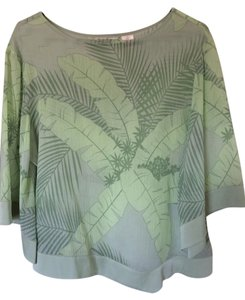 Tommy Bahama Top Green Multi