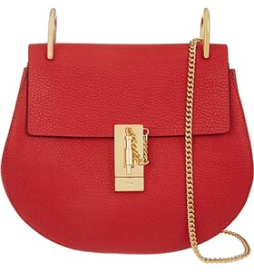 Chloé Drew Crossbody Turnlock Gold Hardware It Small Colorblock Chain Shoulder Bag