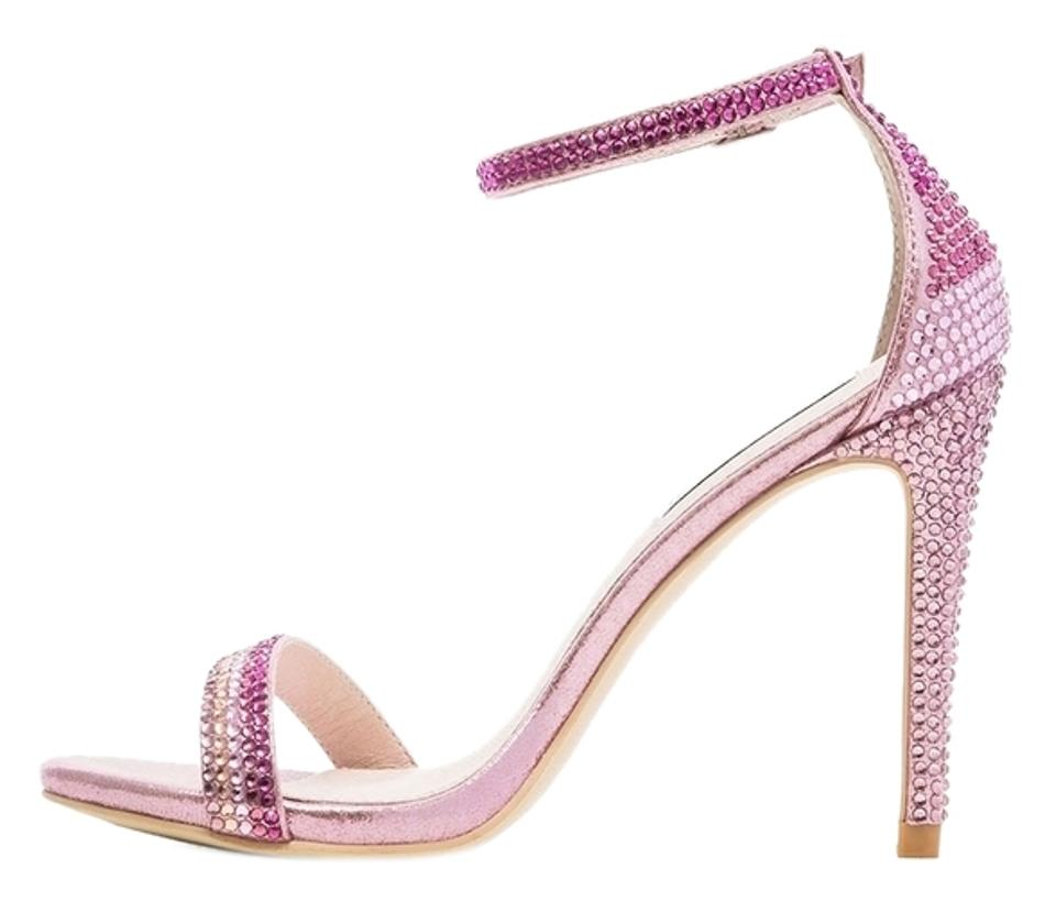 5f0c493c294d Steve Madden Pink Stecy R Stacy Sexy In Rhinestones Sandals Size US ...