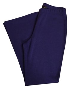 St. John Boot Cut Pants Blue
