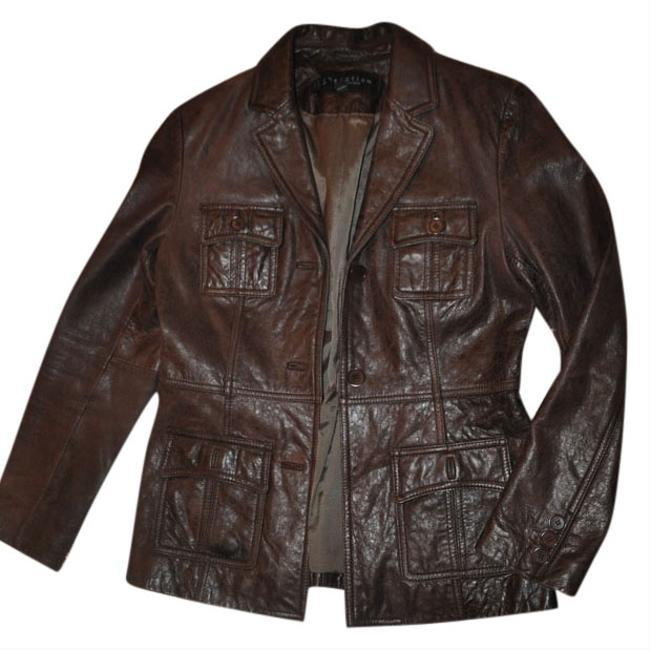 Preload https://item4.tradesy.com/images/kenneth-cole-reaction-brown-pocketed-leather-jacket-size-8-m-10515463-0-1.jpg?width=400&height=650