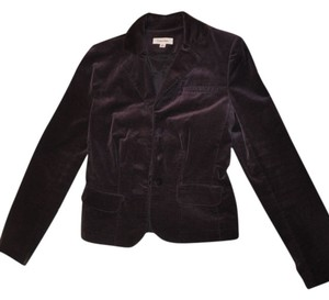 Calvin Klein Velvet Party Holiday Plum Blazer