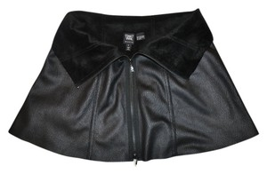 W by Worth Faux Leather Cape