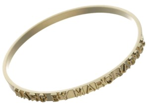 Marc by Marc Jacobs Marc by Marc Jacobs Letter Press Logo Bracelet