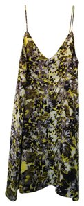 TopShop short dress Yellow Print on Tradesy