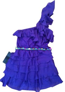bebe short dress Purple on Tradesy