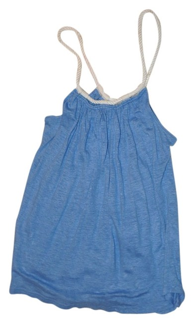 W by Worth Tank Linen Top Light blue
