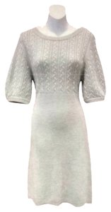 Magaschoni short dress Ash Grey on Tradesy