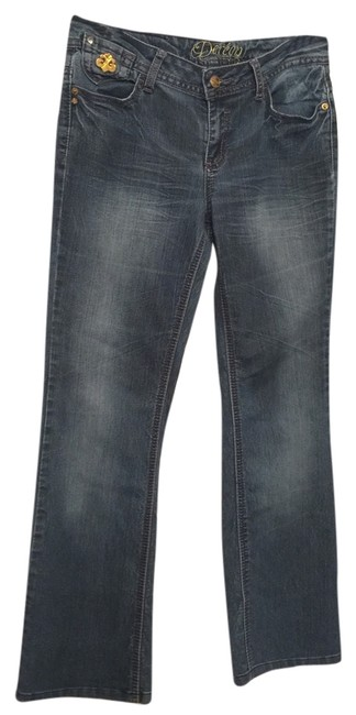 Preload https://item5.tradesy.com/images/house-of-dereon-blue-boot-cut-jeans-size-32-8-m-10516774-0-1.jpg?width=400&height=650