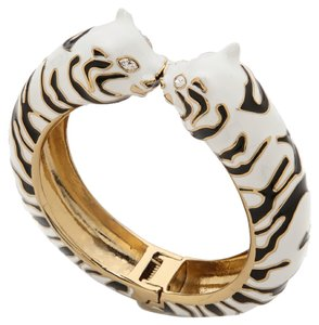 Kate Spade Kate Spade New York Lucky Streak Hinged Tiger Cuff Bracelet