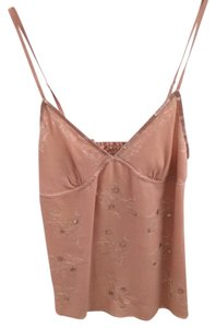 Abercrombie & Fitch A&f Bebe Bcbg Sequins Strappy Designer Hollister Aliceolivia Likenew Luxe Dressy Casual Top Beige