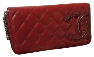 Chanel (Just reduced) CHANEL CAMBON ZIP AROUND WALLET/CLUTCH