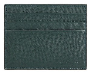Prada Saffiano Portacarte Di Cred Leather Card Case 2M1223