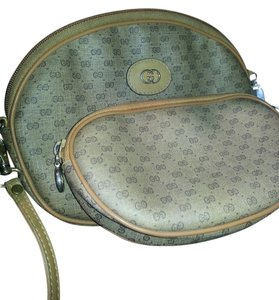 Gucci Monogram Makeup Small Medium Cross Body Bag