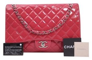 Chanel Maxi Classic Double Flap Cf Shoulder Bag