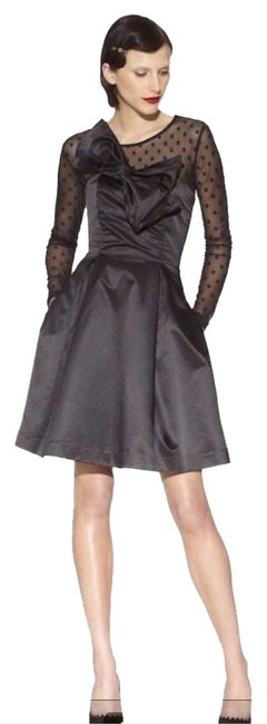 Preload https://item5.tradesy.com/images/kate-young-for-target-satin-strapless-big-bow-cocktail-dress-size-12-l-1052069-0-0.jpg?width=400&height=650
