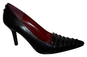 Carlos Falchi Leather black Pumps