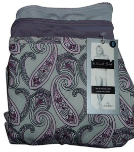 Jockey PANTIES L SZ 7 NWT 3 PR JOCKEY HI WAIST BRIEF SEAM IN BACK STRETCH