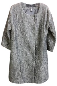 Apostrophe Evening Dress Short Coat metallic grey Jacket