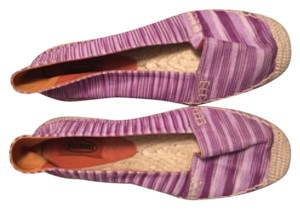 Missoni Purple multi Flats