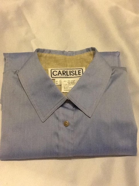 Carlisle Button Down Shirt Light blue