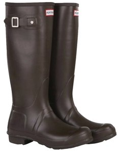 Hunter Boot Wellie Chocolate brown Boots