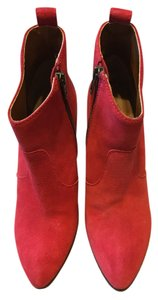 Madewell Red Boots