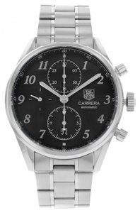 TAG Heuer TAG Heuer Carrera Heritage CAS2110.BA0730 Stainless Steel Automatic Men's Watch (7735)