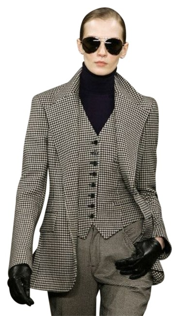 Preload https://item3.tradesy.com/images/ralph-lauren-collection-blackcream-houndstooth-check-vest-button-down-top-size-4-s-10522537-0-2.jpg?width=400&height=650