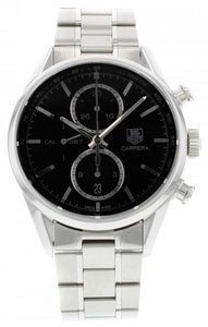 TAG Heuer TAG Heuer Carrera CAR2110.BA0720 Stainless Steel Automatic Men's Watch (10683)