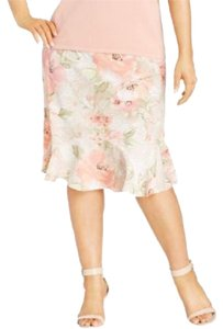 Alfred Dunner Plus-size Plus Size Floral Skirt Multi-color